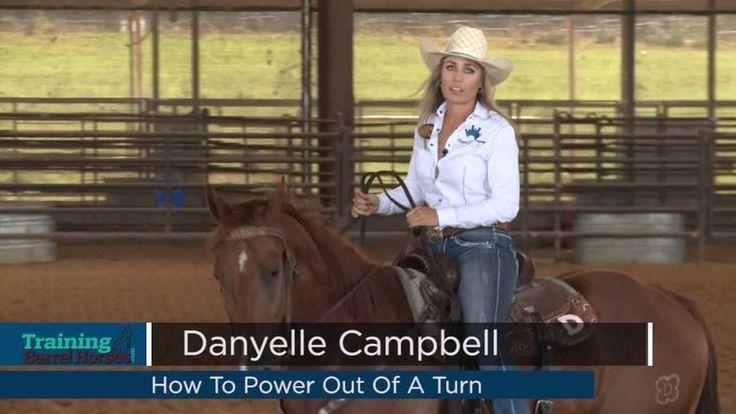 how to train a barrel racing horse