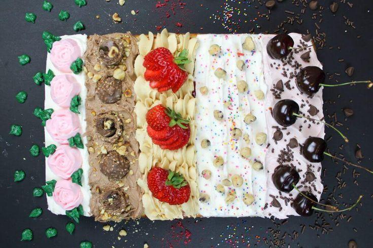 Vielzahl-Blatt-Kuchen   – Cake Decorating Ideas