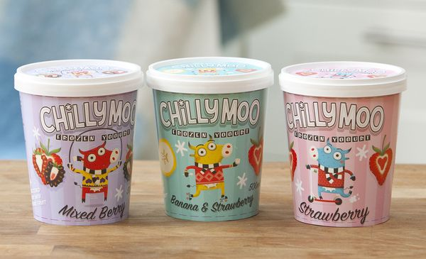 Chilly Moo by Steve Simpson, via Behance