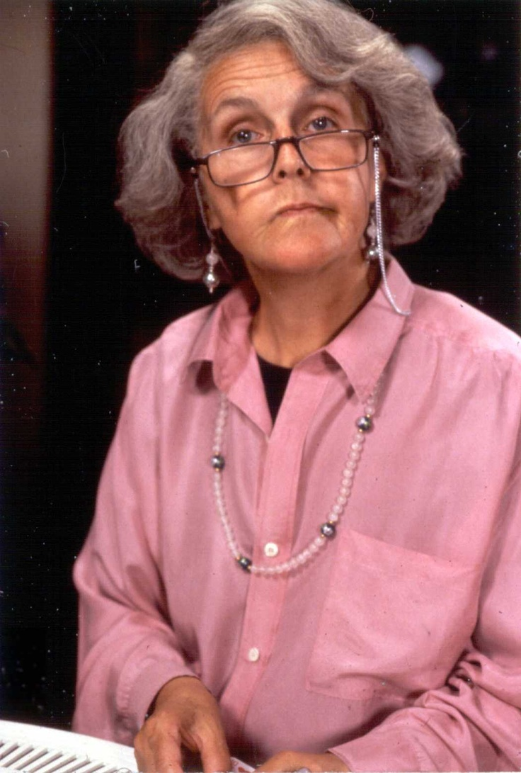 Stephanie Cole.  Played cynical, hysterical retiree Diana Trent on 'Waiting for God' while in her forties.  Believably.  And rocked out as an actual elderly actress in 'Doc Martin'.  Diana-  Life is hard and then you die.  Tom-  It's all the wrong way round.  Diana- God's probably dyslexic.