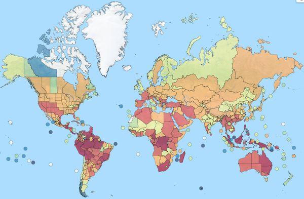Llega el primer mapa mundial interactivo de hormigas