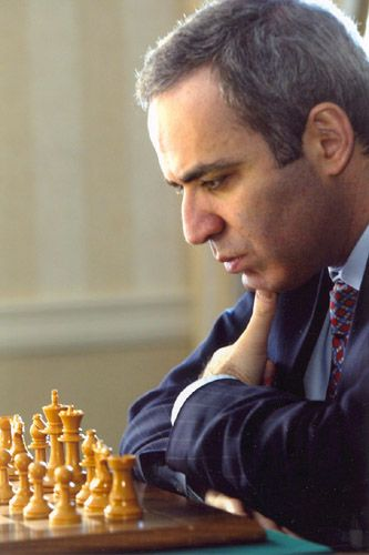 Kasparov-29 - Chess - Grandmaster Garry Kasparov, former World Chess Champion, is considered by many to be one of the greatest chess players of all time.