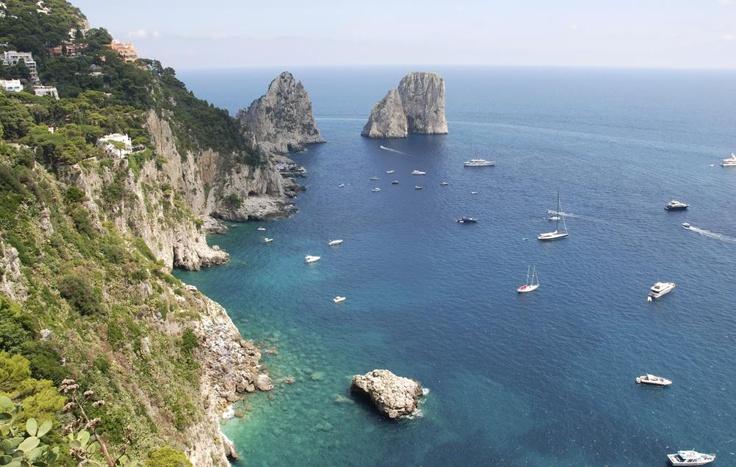 Best honeymoon destinations: Capri, Italy