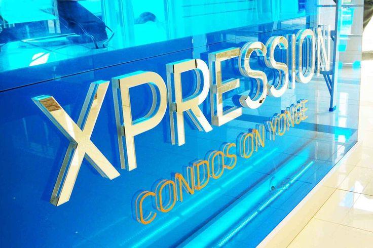 Condo sales center corporate logo signage created by artsigns  #signage #idea #mirror #sign #wayfinding # donor wall #3dsignage #wayfinding #signage #signs #artsigns #artsignscom #officesigns #signs #wallsigns #mirrormirror #dimensionalsigns #mississauga #toronto #newyork