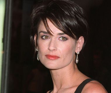 7 Best Demi Moore Images On Pinterest Short Hairstyle