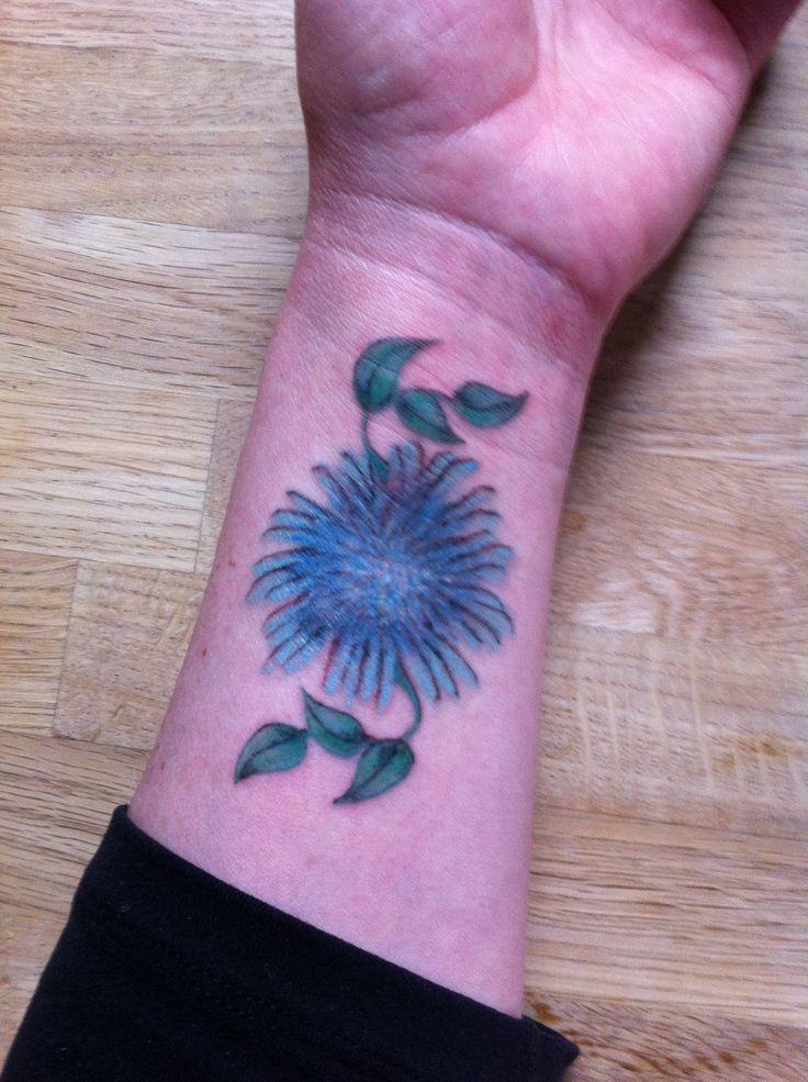 Aster tattoo by Ranz