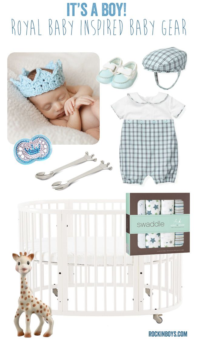 It's a BOY! #Royalbaby Inspired Baby Gear ideas from  @Jill & Angela. What would you like to see in the royal nursery?