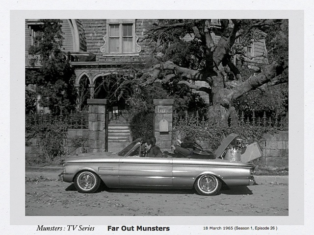 "MUNSTERS Cars - ""Franciscan"" Falcon built by Gene Winfield for Ford's Custom Car Caravan."