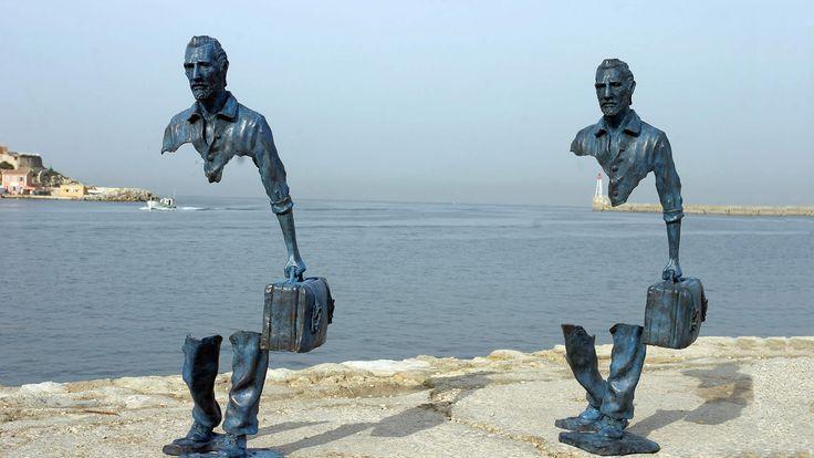 Les voyageurs (Marsella)  - Atlas de las emociones en trece esculturas públicas del mundo