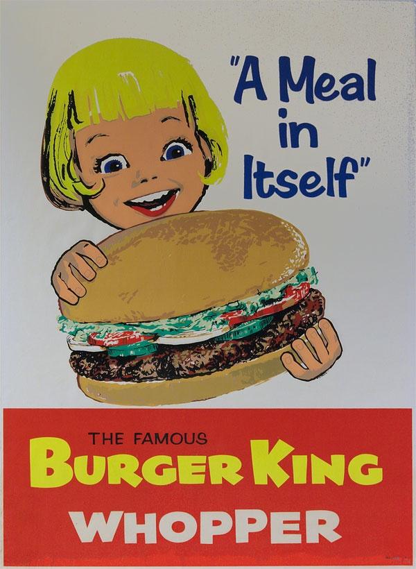 Vintage advertising posters.