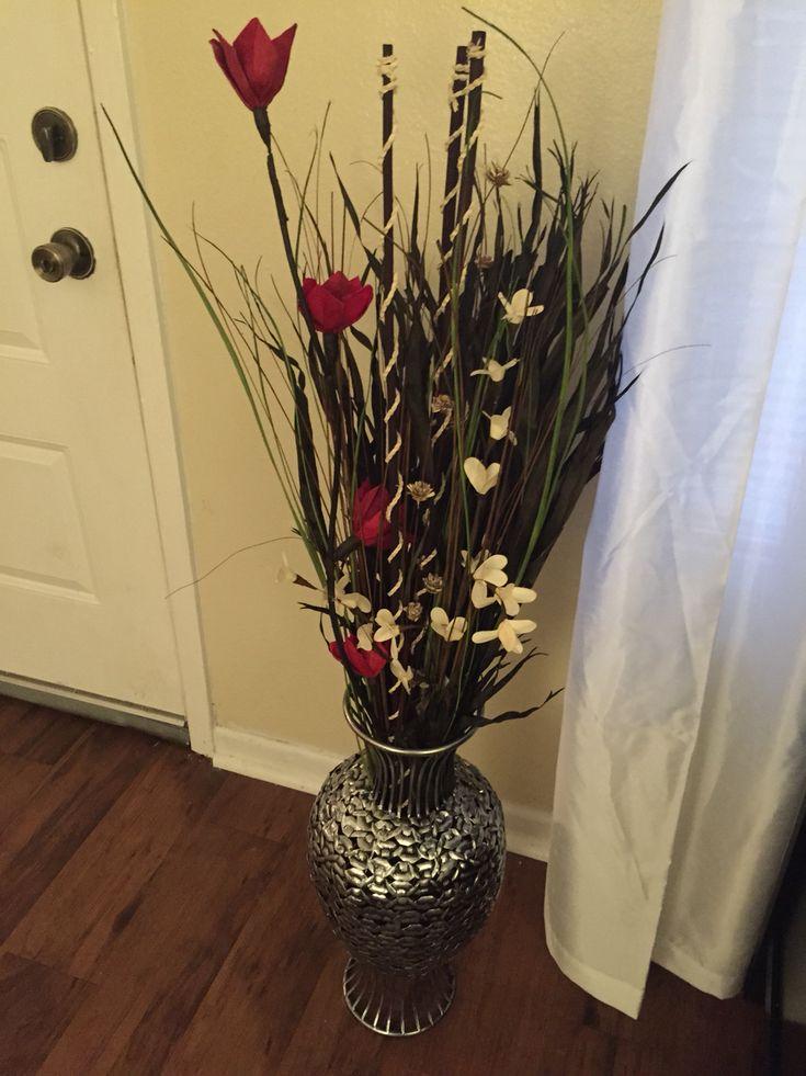 Large Metal Flower Pots