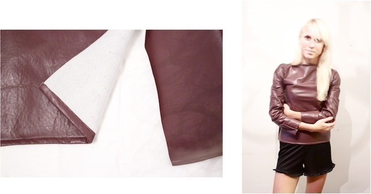 An Easy Way To Make A Pleather Top Diy Coat Duster