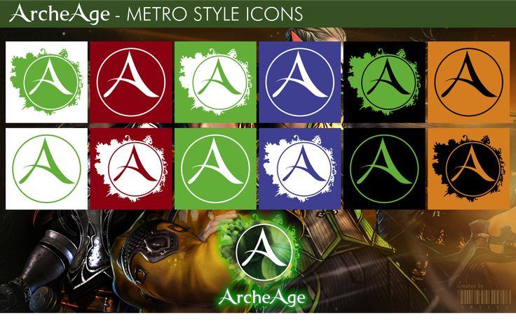 ArcheAge - Metro Style Icons by xmilek.deviantart.com on @deviantART