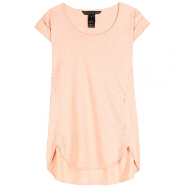 Marc by Marc Jacobs Carmen Linen-Jersey T-Shirt found on Polyvore