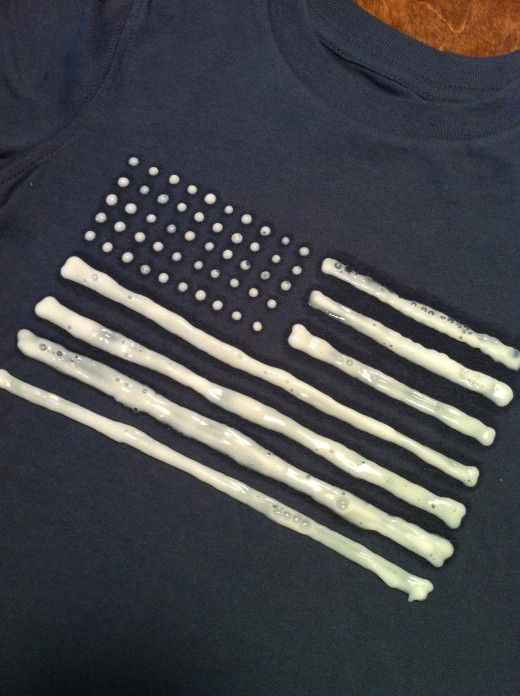 Use a bleach pen to make a vintage style kids shirt (or adult shirt)! There are no limits.