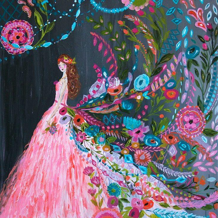 Dream Catcher - Pink, People Art Prints | Wheatpaste