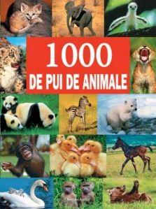 1000 de pui de animale invită cititorii într-o călătorie într-un safari de imagini realiste deosebite: fantastice imagini color ale celor mai buni fotografi înfăţişează puii de animale de pe toate continentele. Bogăţia speciilor este prezentată în toate situaţiile de viaţă; de la naştere şi joaca cu tovarăşii până la primele încercări de vânătoare. Poate fi studiata impreuna cu parintii de la 2 ani si citita individual de la 7-8. Un volum extrem de valoros.