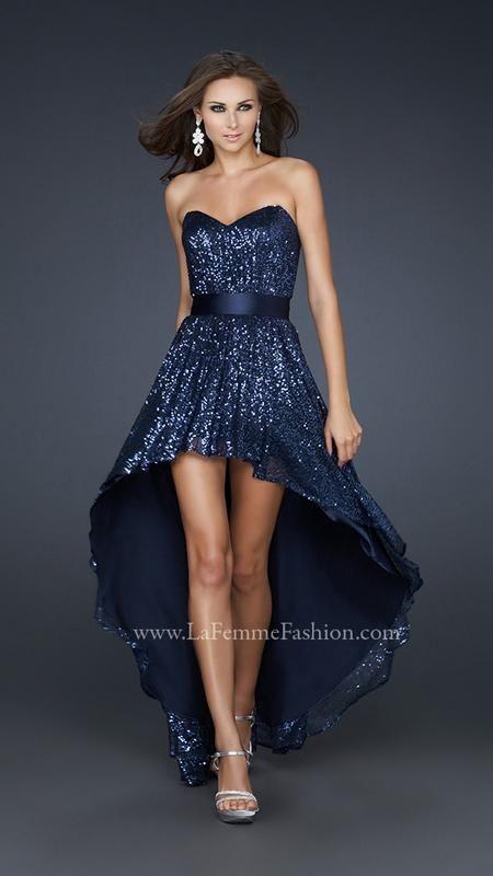 La Femme 17334   La Femme Fashion 2014 - La Femme Prom Dresses - Dancing with the Stars