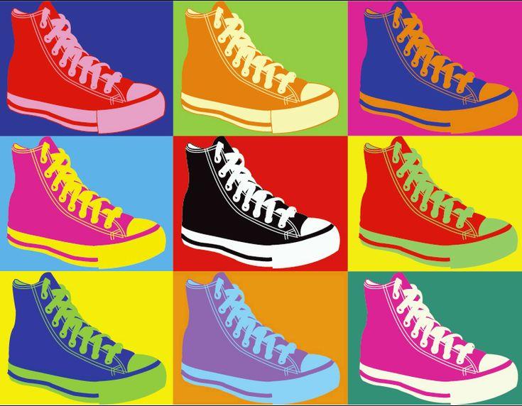 Andy Warhol Pop Art: shoessss