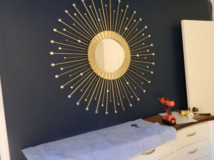 Sunburst Mirror, I Have All The Supplies To Do This
