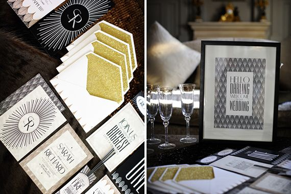 Canvas Stationery Boutique Wedding friends Glitz, Glam and Gold Styled Shoot. Photography by Custo Photo