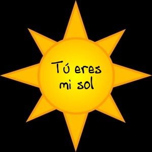 Spanish Song for Kids: Tú eres mi sol Kids love this happy song.  http://www.spanishplayground.net/spanish-song-for-kids-tu-eres-mi-sol/