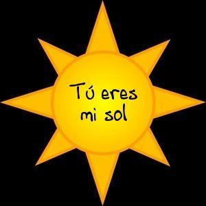 Spanish Song for Kids: Tú eres mi sol Kids love this happy song.  http://www.spanishplayground.net/spanish-song-for-kids-tu-eres-mi-sol/