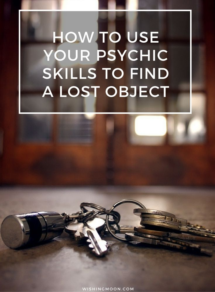 How To Use Your Psychic Skills To Find A Lost Object | Psychic Guide | Spirituality | Self Improvement | Life Guide