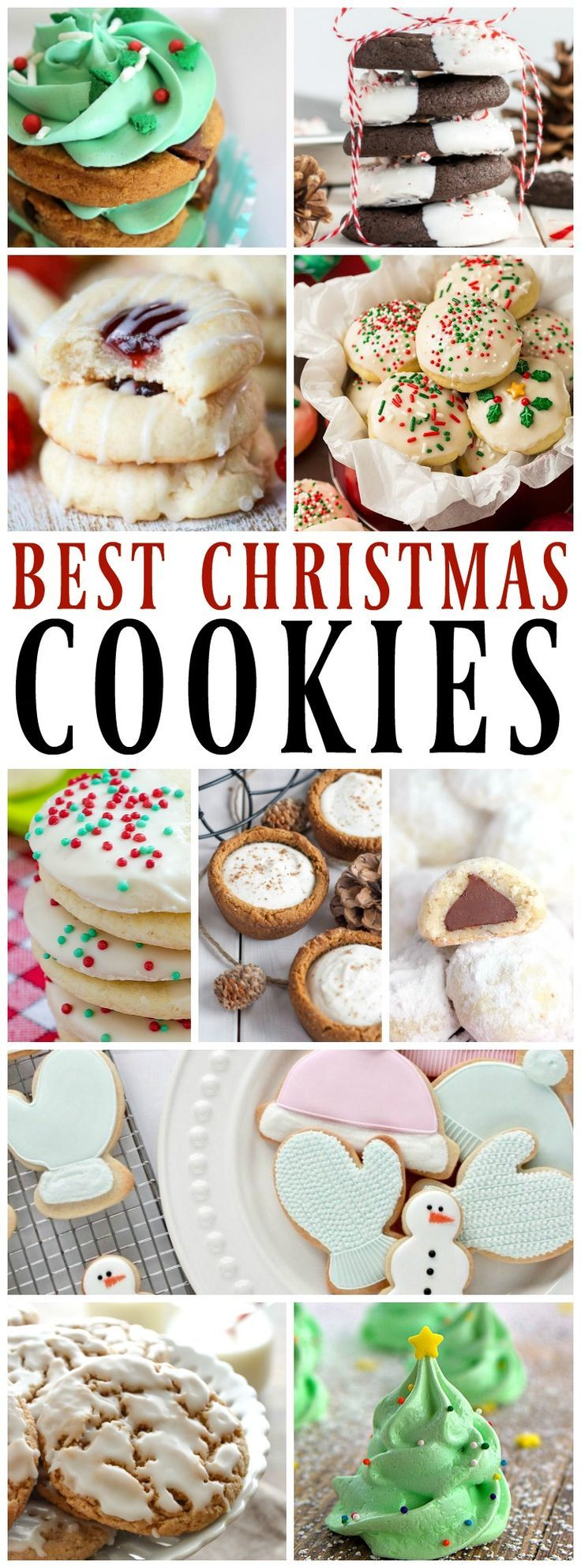 50 BEST CHRISTMAS COOKIES that will spread holiday cheer. From the classic sugar to the best German Chocolate Cake Cookies and everything in between. Friends get ready to bake your heart out.