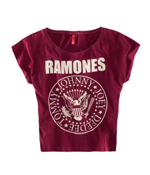 H&M Purple Ramones T-shirt.