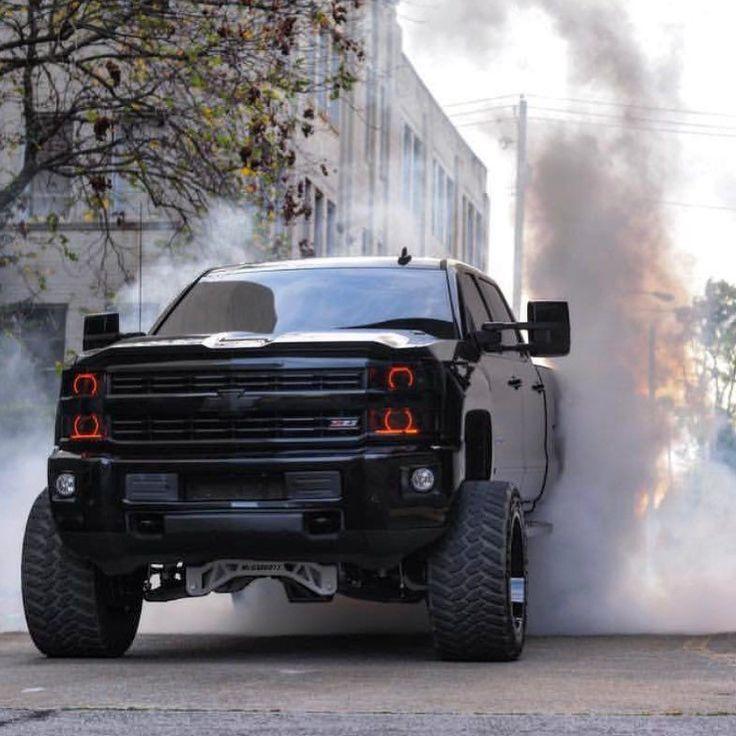 Pickup Truck Black C1500 Custom Chevy