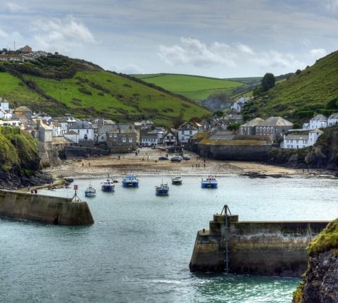 Port Isaac, Cornwall.......Doc Martin is filmed here