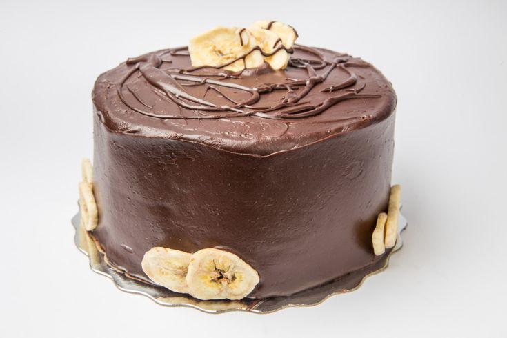 Κεϊκ σοκολάτα-μπανάνα για διαβητικούς