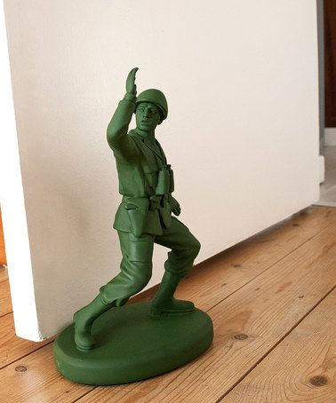 Another great find on #zulily! Home Guard Soldier Doorstop #zulilyfinds