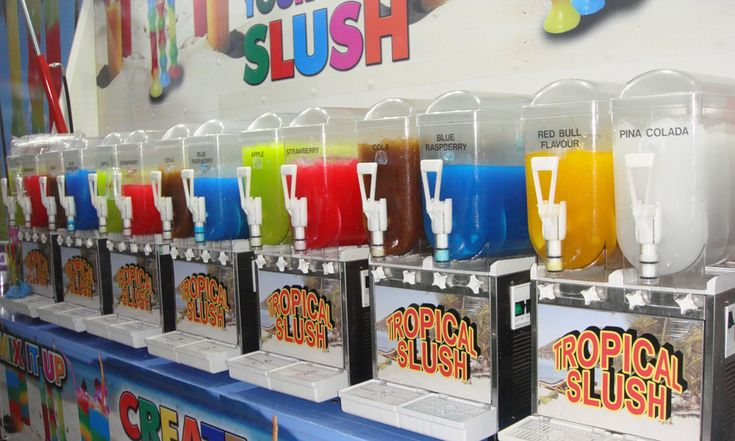 Get the yummy and fruitful treat with the slush machine available at the Classic Popcorn. This highly useful machine provide you perfect cocktail with perfect mix.