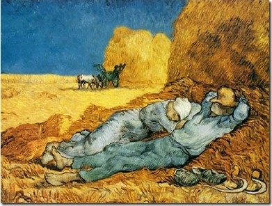 Nap by Vincent Van Gogh