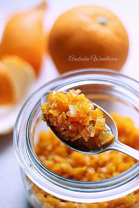 Arabeska: Skórka pomarańczowa w syropie