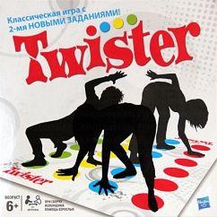Настольная игра Твистер 2 (Twister) Hasbro - фото
