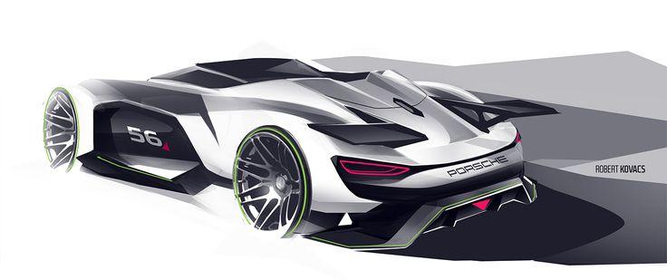 Porsche GT on Behance