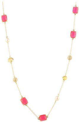 Kate Spade New York Bijoux Bijoux Long Necklace Pink Multi Jewelry Kate Spade