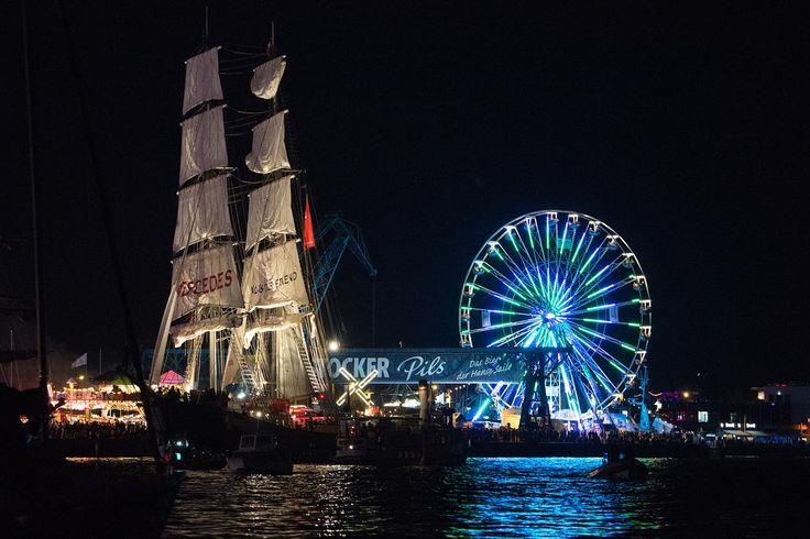 #hansesail #sailing #ships #rostock #warnemünde #warnemuende #traditionssegler #tallships
