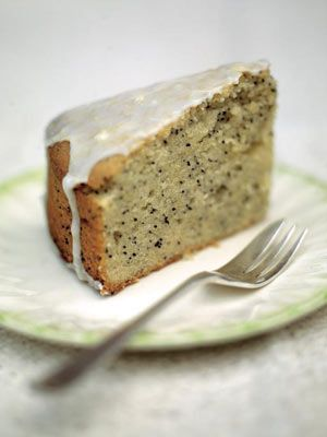This is a great old-fashioned tea cake – and perfectly presentable as a dessert with a big serving of ice cream. The trick is to make the lemon icing as fresh and zingy as possible, so try and buy nice thick-skinned organic leafy lemons instead of the waxed and sprayed everyday ones. I used to make this cake for my nan and she would serve it to her whist-drive team – one of them liked it so much they choked on their false teeth and my nan's boyfriend had to perform the Heimlich manoeuvre!