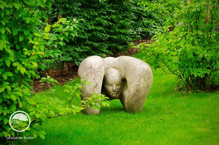 #landscape #architecture #garden #lawn #sculpture  #rockery
