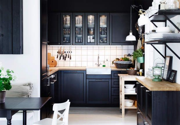 17 best images about cuisine on pinterest countertops - Petite cuisine equipee ikea ...