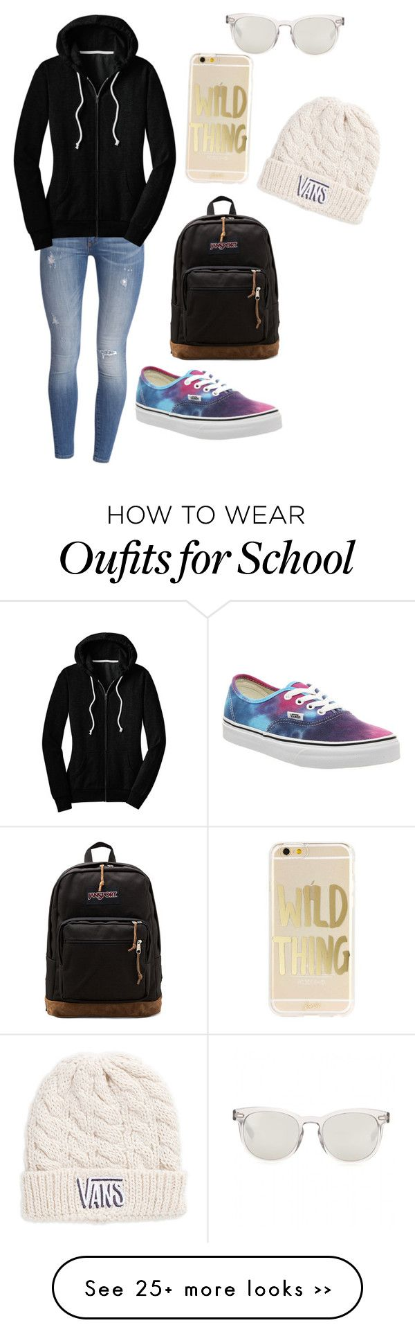 """School"" by carolinereynolds532 on Polyvore"