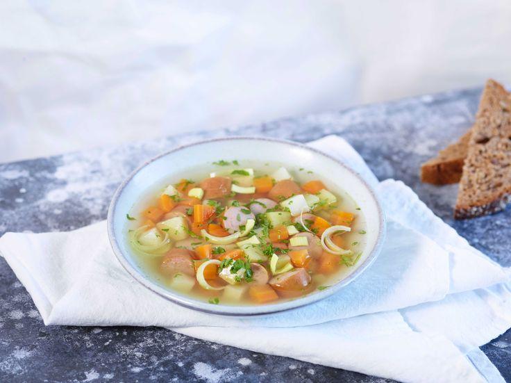 Denne enkle, men veldig gode suppen lager du på 1–2–3. En hverdagsoppskrift både barn og voksne setter pris på.