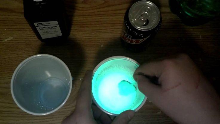 Debunking the Mountain Dew glow stick myth.