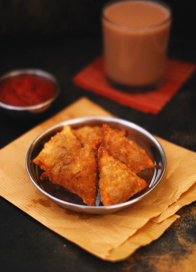 Kerala Chicken samosa