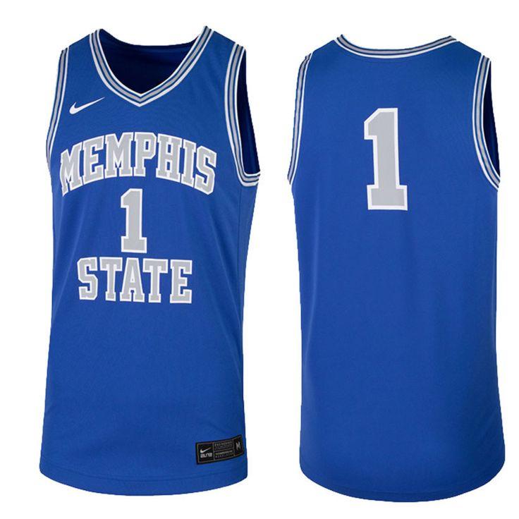 Memphis throwback vintage replica basketball jersey