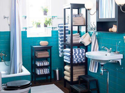 129 besten IKEA Badezimmer - Spa Bilder auf Pinterest | Ikea ... | {Ikea spiegelschrank hemnes 51}